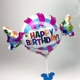 Happy Birthday candy foil balloon - Anagram