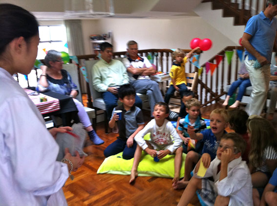 Redhill Peninsula birthday party