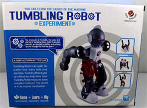 Kids Birthday Party Favor-Tumbling Robot